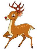 Deer Cartoon — Stock Vector