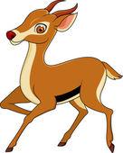 Gazelle cartoon — Stock Vector