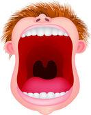 Open mouth — Stock Vector