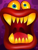 Monster Cartoon — Stock Vector
