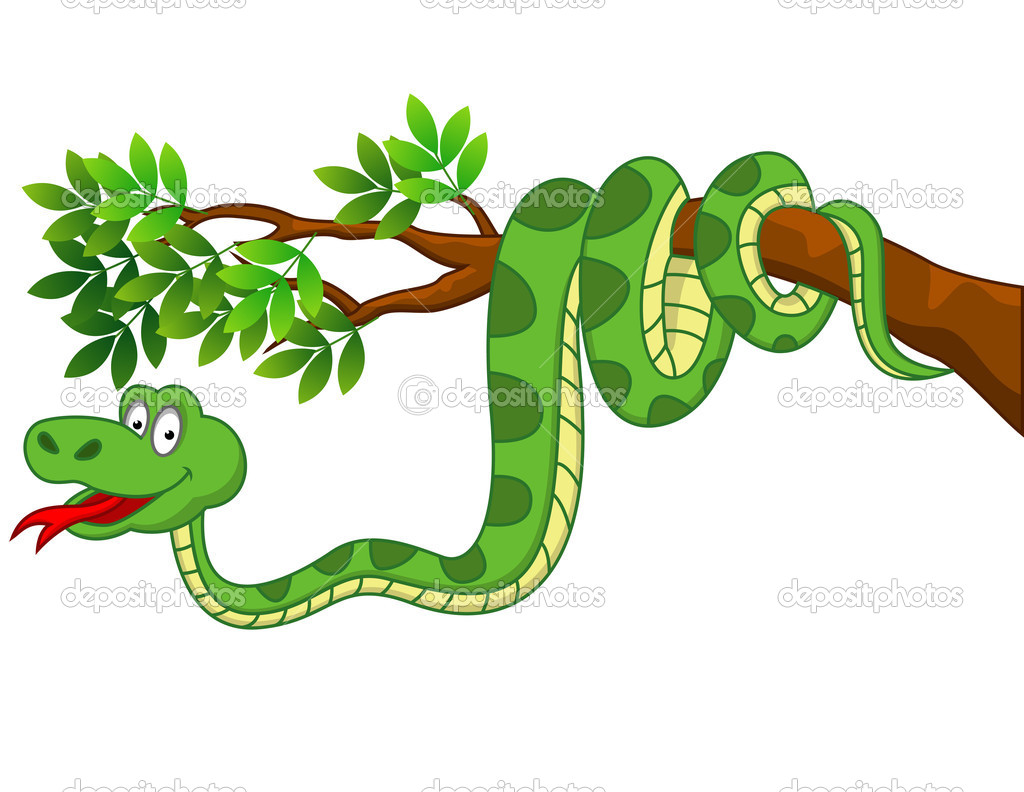 Green snake cartoon royalty free stock image image 19462406 - Of Snake Cartoon Vector Funny Snake Cartoon