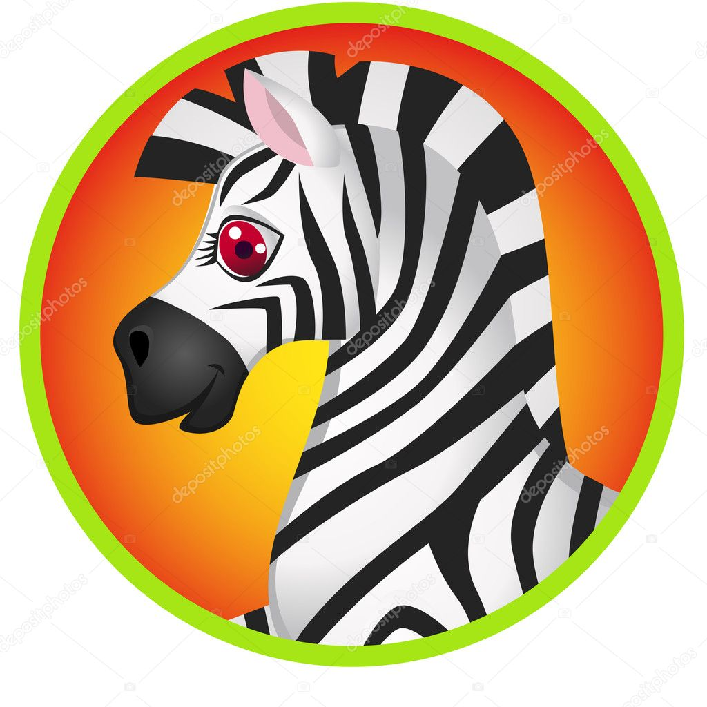Zebra head cartoon images - photo#5