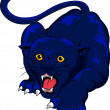 Royalty-Free Stock Vector Image: Angry Panther