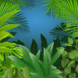 Tropical leaf background — Stock Vector #10673482