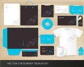 矢量信纸设计方案集 — 图库矢量图片