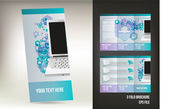 Vector brochure design — Stock Vector