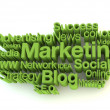 Green marketing words — Stock Photo #9734054