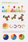Elements of Infographic — Stock Vector