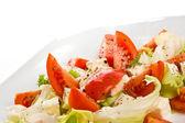 Caprese salad - close up — Stock Photo