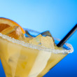 Margarita glass - close up — Stock Photo
