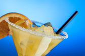 Margarita glass - close up — Stock Photo