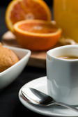 Breakfast - close up — Stock Photo