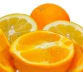 Orange and lemons — Stock Photo