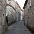 Historical medieval street — Stock Photo