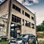 Постер, плакат: Subaru Impreza WRC in ruins