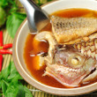Garcinia Cambogia  fish boil — Stock Photo
