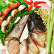 Royalty-Free Stock Photo: Ingredients for Thai Food Spicy Cat Fish