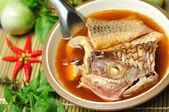Garcinia Cambogia fish boil — Stock Photo