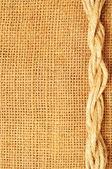 Rám lana na pytel — Stock fotografie
