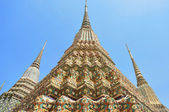 Pagoda starożytnych lub chedi w wat pho — Zdjęcie stockowe