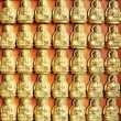 10000 Golden Buddha — Stock Photo
