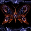 The fiery angel-a butterfly — Stock Photo