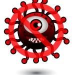 Stop Bacteria — Stock Vector #10626485