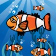 ClownFish Group — Stock Vector