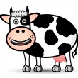 Cow Vector - Stock Vector