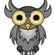Owl vector — Stock Vector