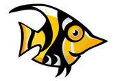 Tropical Fish — Vettoriale Stock