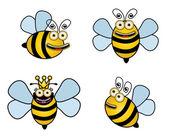 Set bee — Wektor stockowy