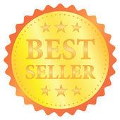 Best seller vector label — Stock Vector