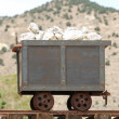 Mine Cart — Stock Photo
