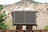 Mine Cart — Stock Photo