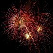 Fireworks Bursting In Air — Stockfoto