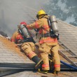 Attic Fire — Stock Photo #10695815