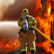 Structure Fire — Stock Photo #9596292