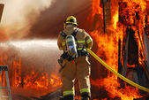 Structure Fire — Stock Photo