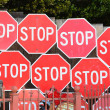 Stop Here — Stock Photo