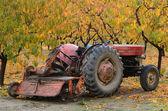 梨拖拉机 — 图库照片