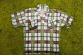 Checkered shirt — Stock Photo