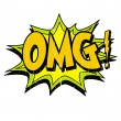 Omg Logo - Stock Vector