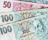Czech Republic Czech banknotes — Stock Photo