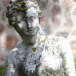 Stock Photo: A beautiful statue in the garden