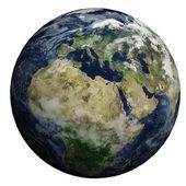 Den här fina 3d bilden visar planetjorden — Stockfoto