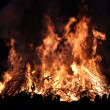 Stock Photo: Large camp fire