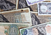 Egyptian banknotes — 图库照片