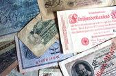 Velké německé říšské banky poznámky — Stock fotografie