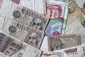Italian banknotes — Stock fotografie